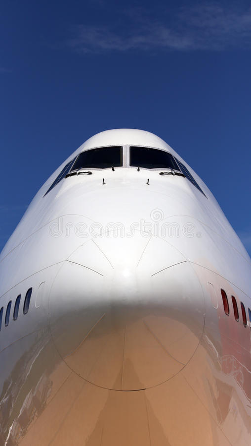 Τεράστιος - αεριωθούμενο αεροπλάνο στοκ φωτογραφία