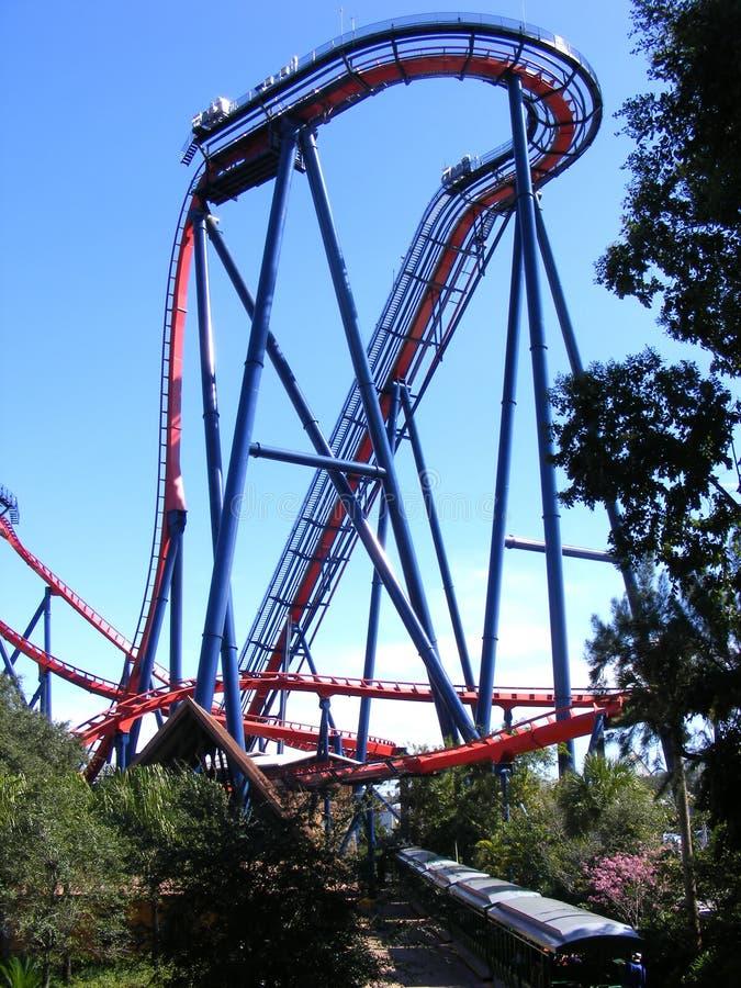 τεράστιο rollercoaster στοκ φωτογραφία με δικαίωμα ελεύθερης χρήσης
