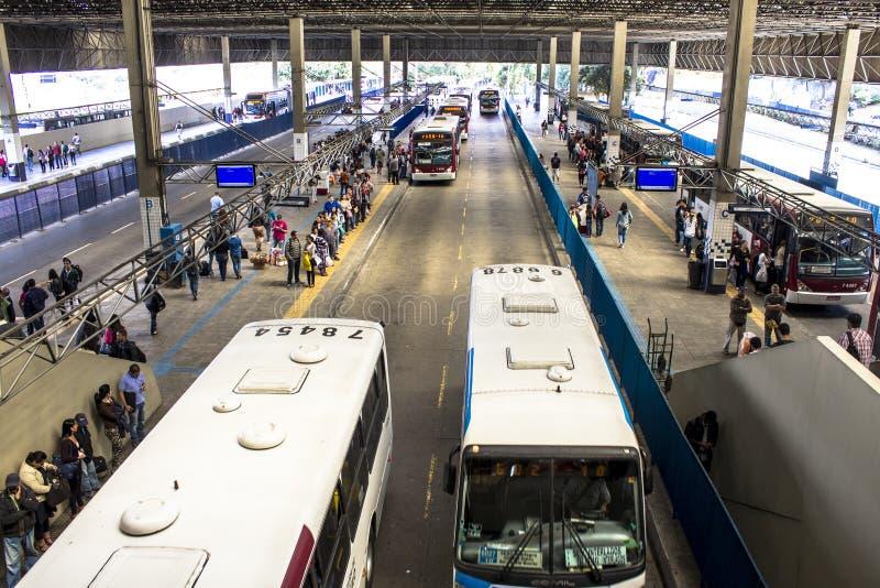 Τερματικό λεωφορείων στοκ φωτογραφία