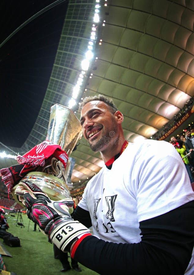 Τερματοφύλακας Beto FC Σεβίλλη στοκ εικόνα με δικαίωμα ελεύθερης χρήσης