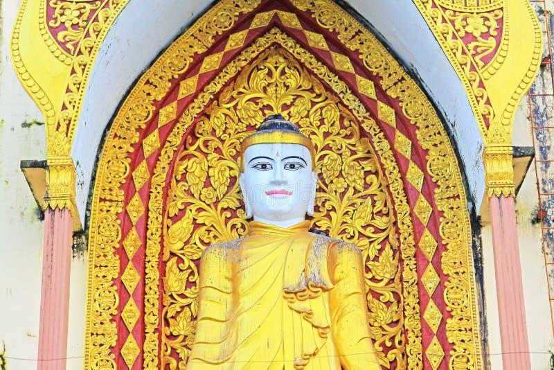 Τεσσάρων Βούδας εικόνα, Bago, το Μιανμάρ στοκ φωτογραφία με δικαίωμα ελεύθερης χρήσης