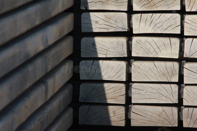 τετράγωνα ξύλινα στοκ φωτογραφία