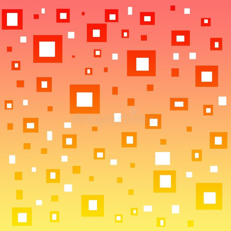 Τετράγωνα στο υπόβαθρο κλίσης ελεύθερη απεικόνιση δικαιώματος
