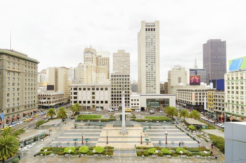 Τετράγωνο ένωσης, Σαν Φρανσίσκο, Καλιφόρνια στοκ εικόνες