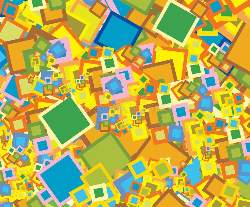 τετράγωνο ανασκόπησης ελεύθερη απεικόνιση δικαιώματος