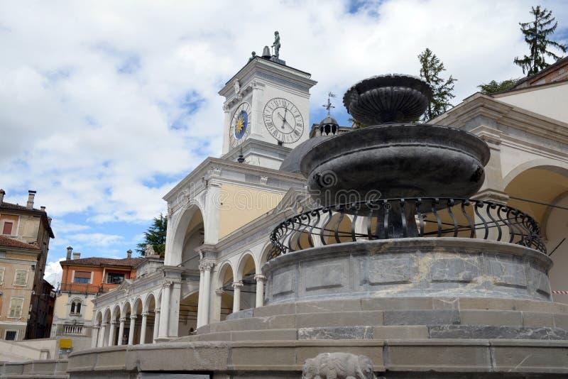 Τετράγωνο ελευθερίας Udine, Ιταλία στοκ φωτογραφίες