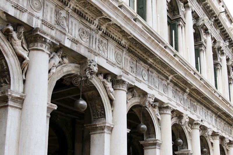 Τετράγωνο του σημαδιού του ST (πλατεία SAN Marco) στη Βενετία, Ιταλία στοκ φωτογραφίες με δικαίωμα ελεύθερης χρήσης