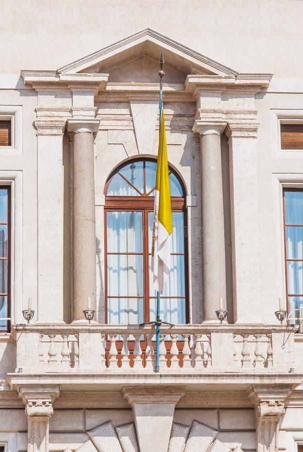Τετράγωνο του ST Peter στη Ρώμη, Ιταλία στοκ φωτογραφία με δικαίωμα ελεύθερης χρήσης