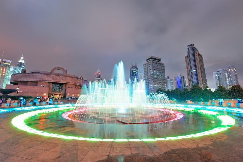 Τετράγωνο των ανθρώπων της Σαγκάη στοκ εικόνες με δικαίωμα ελεύθερης χρήσης