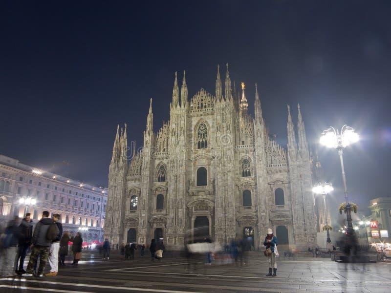 Τετράγωνο Duomo στο Μιλάνο στοκ εικόνα