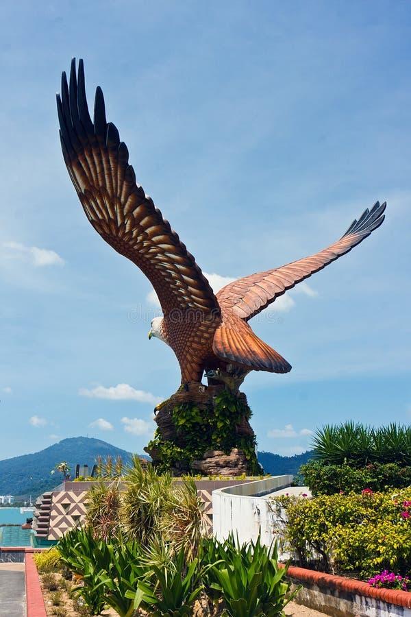 τετράγωνο langkawi αετών στοκ φωτογραφία με δικαίωμα ελεύθερης χρήσης