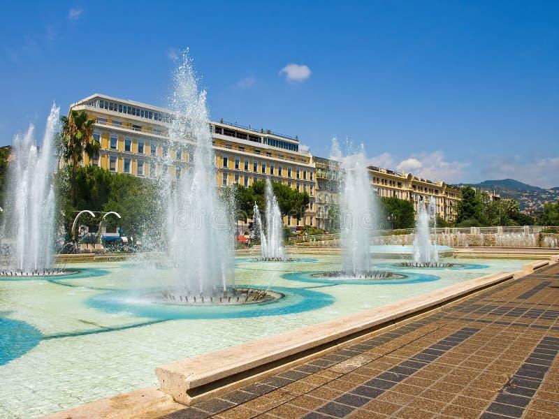 τετράγωνο plaza massena στοκ εικόνες