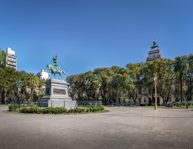 Τετράγωνο Plaza SAN Martin - Ροσάριο, Σάντα Φε, Αργεντινή στοκ εικόνα με δικαίωμα ελεύθερης χρήσης
