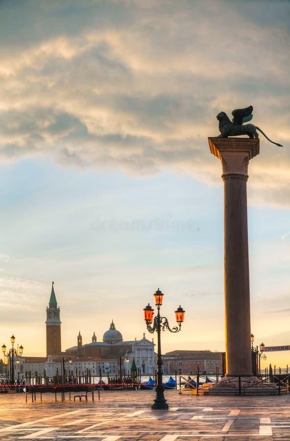 Τετράγωνο SAN Marco στη Βενετία, Ιταλία στοκ φωτογραφίες