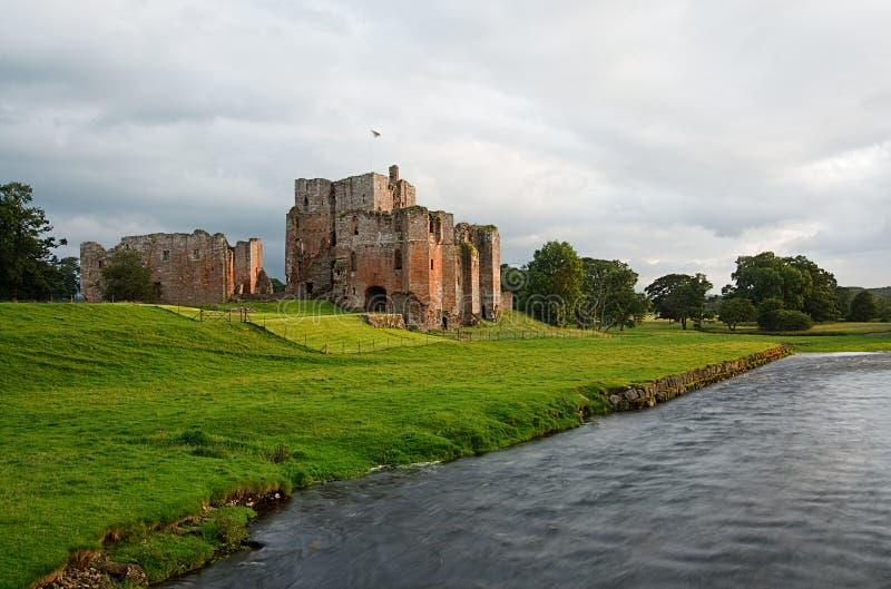 Τετράχρονο μόνιππο Castle penrith πλησίον στοκ εικόνα