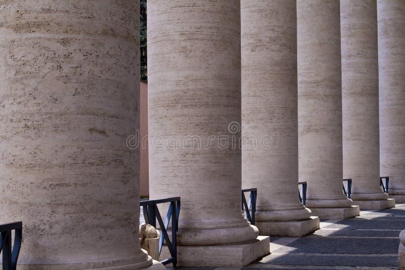 Τετραγωνικές στήλες του ST Peter στοκ φωτογραφία με δικαίωμα ελεύθερης χρήσης