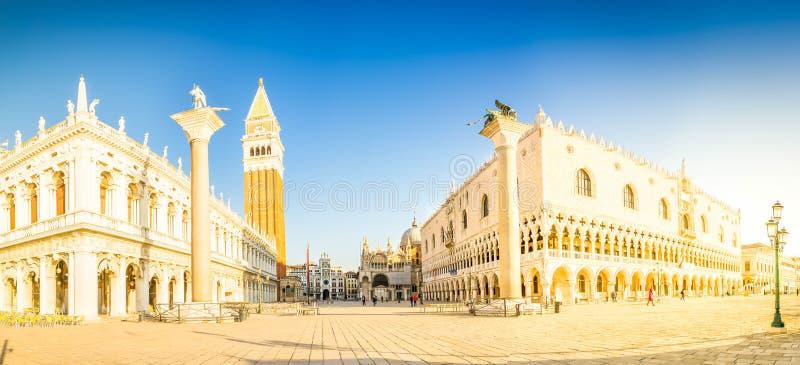 Τετραγωνική προκυμαία SAN Marco, Βενετία στοκ εικόνα με δικαίωμα ελεύθερης χρήσης