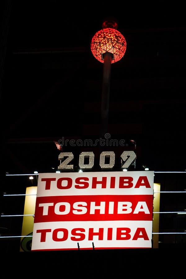 τετραγωνικοί χρόνοι σφαιρών του 2009 στοκ φωτογραφία