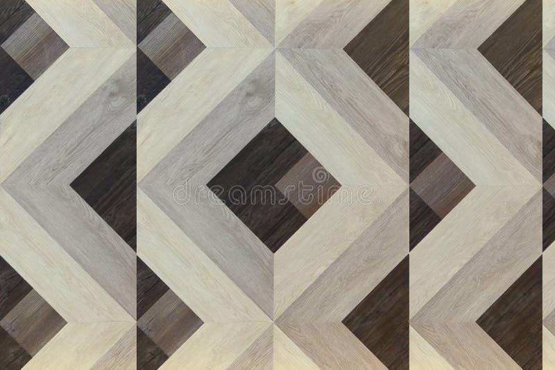 Τετραγωνικό ξύλινο υπόβαθρο σχεδίων στοκ φωτογραφία με δικαίωμα ελεύθερης χρήσης
