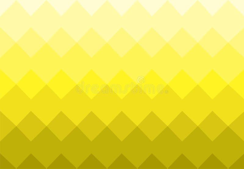 Τετραγωνικό σχέδιο γωνιών υποβάθρου μωσαϊκών διανυσματικό απεικόνιση αποθεμάτων