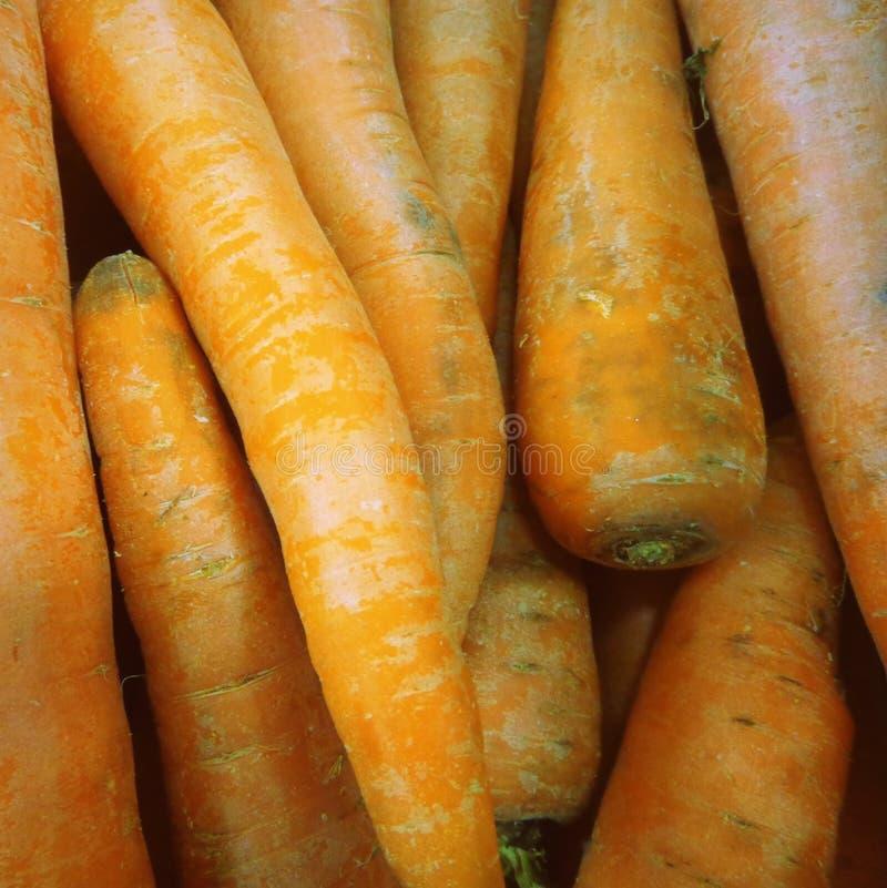 Τετραγωνικό σχήμα σύστασης τροφίμων καρότων στοκ φωτογραφία με δικαίωμα ελεύθερης χρήσης