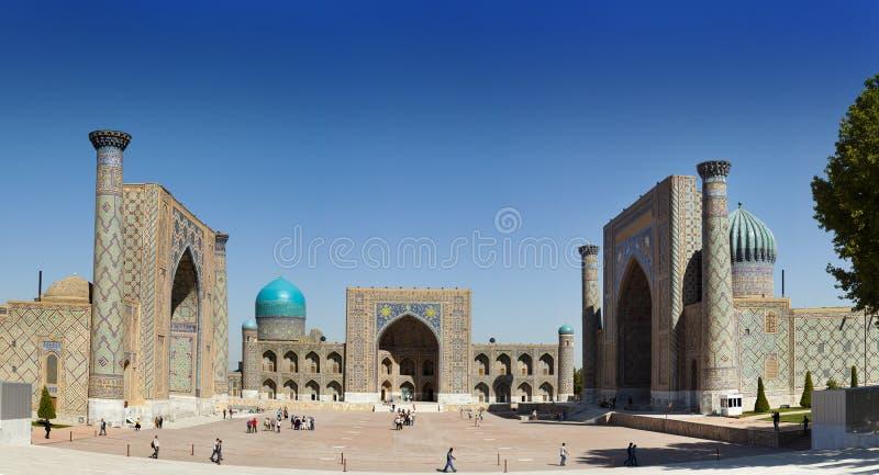 Τετραγωνικό Registan, Σάμαρκαντ Ουζμπεκιστάν στοκ φωτογραφίες με δικαίωμα ελεύθερης χρήσης