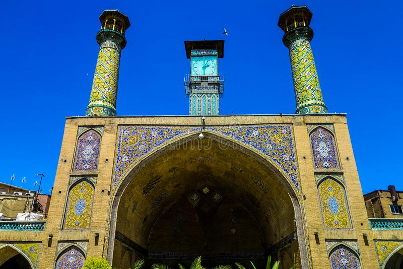 Τεχεράνη μεγάλο Bazaar 10 στοκ εικόνα