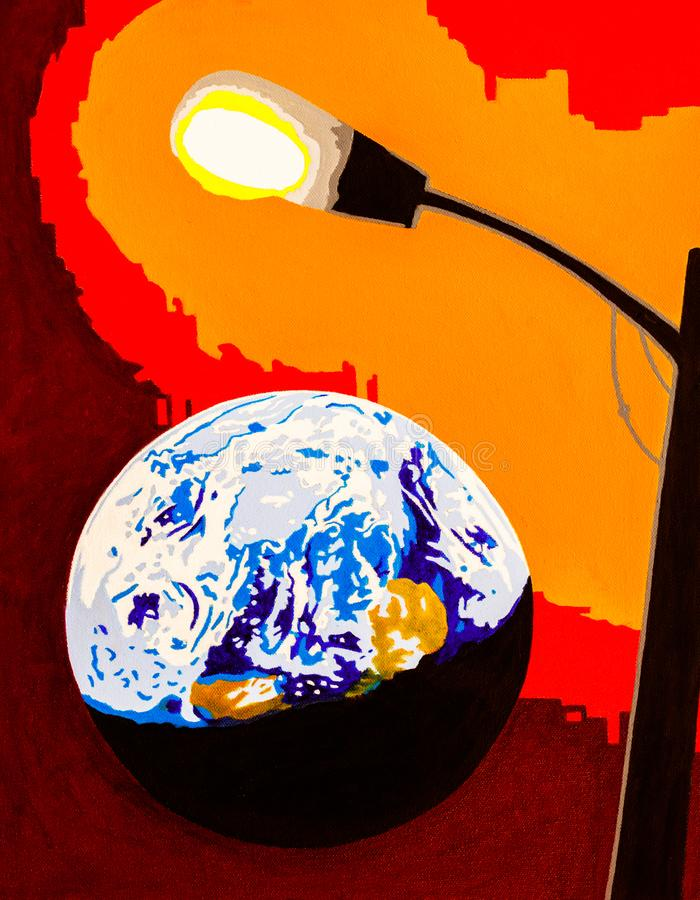 Τεχνητή κλιματική αλλαγή στοκ φωτογραφίες