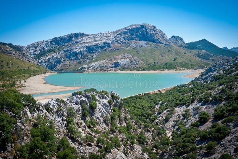 Τεχνητή λίμνη Blau Gorg στοκ φωτογραφία με δικαίωμα ελεύθερης χρήσης