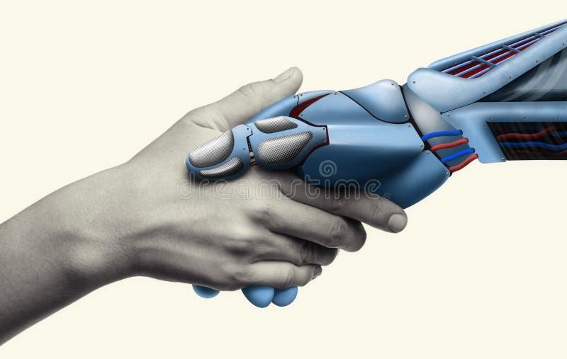 Τεχνητή νοημοσύνη, έννοια του μέλλοντος στοκ εικόνα με δικαίωμα ελεύθερης χρήσης
