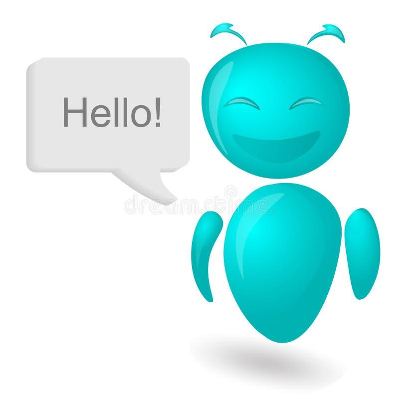 Τεχνητή νοημοσύνη, συνομιλία BOT, ρομπότ, ελεύθερη απεικόνιση δικαιώματος