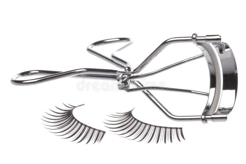 τεχνητό ρόλερ eyelashes στοκ φωτογραφία