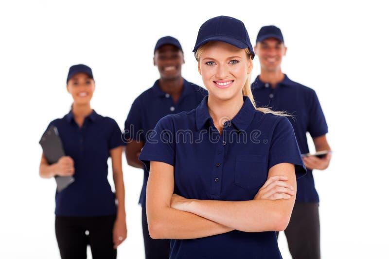 Τεχνική ομάδα υπηρεσιών στοκ εικόνες