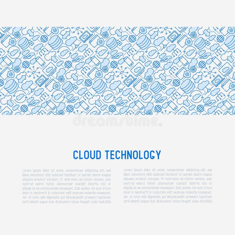τεχνολογία έννοιας υπο&la απεικόνιση αποθεμάτων