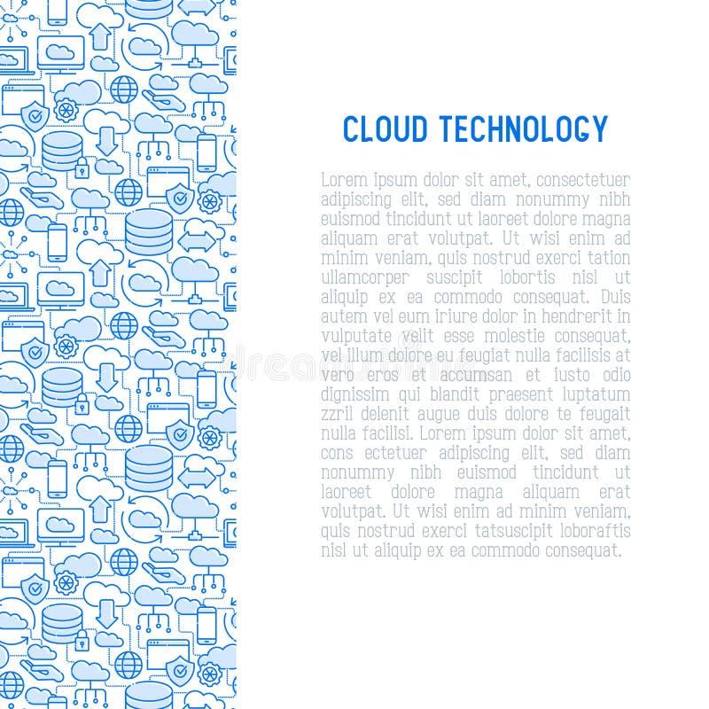τεχνολογία έννοιας υπο&la ελεύθερη απεικόνιση δικαιώματος