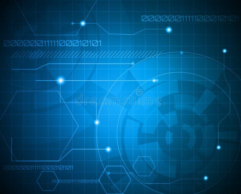 τεχνολογία ανασκόπησης ελεύθερη απεικόνιση δικαιώματος