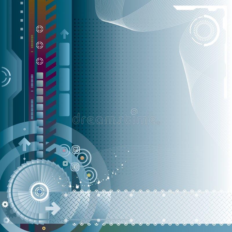 τεχνολογία ανασκόπησης διανυσματική απεικόνιση