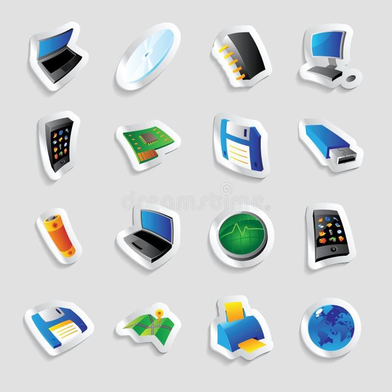 τεχνολογία βιομηχανίας εικονιδίων απεικόνιση αποθεμάτων