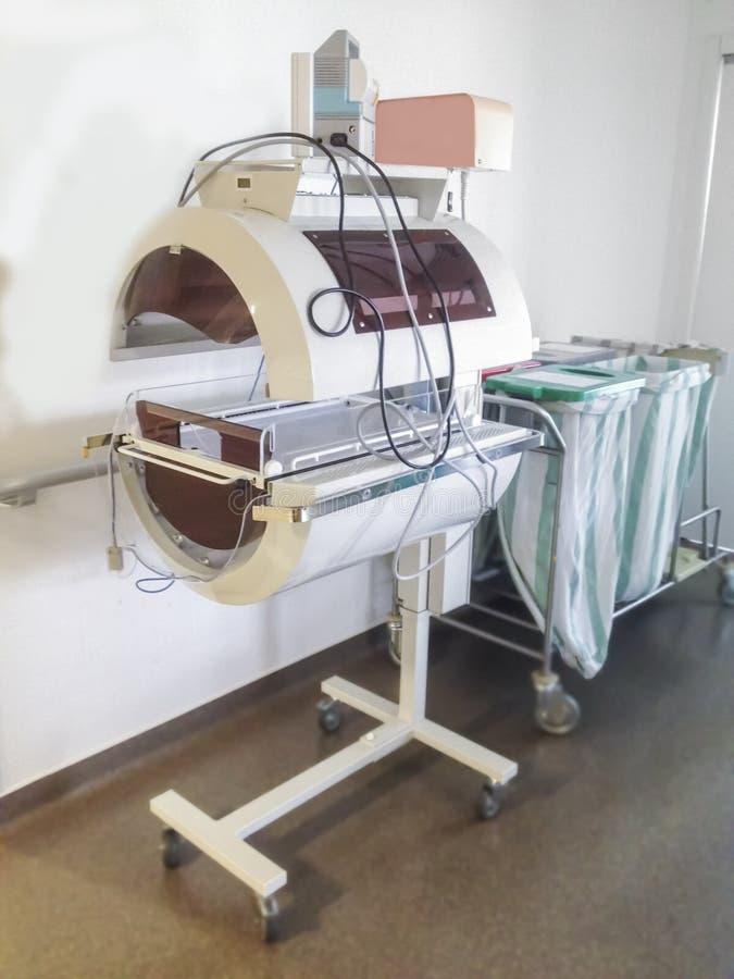 Τεχνολογία επωαστήρων για το μωρό σε ένα νοσοκομείο ιατρικών κέντρων στοκ φωτογραφία με δικαίωμα ελεύθερης χρήσης