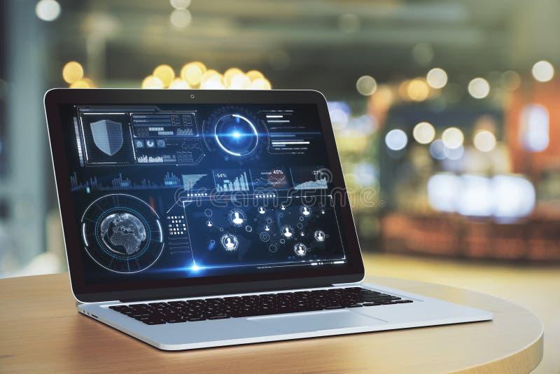 Τεχνολογία και μελλοντική έννοια στοκ εικόνα