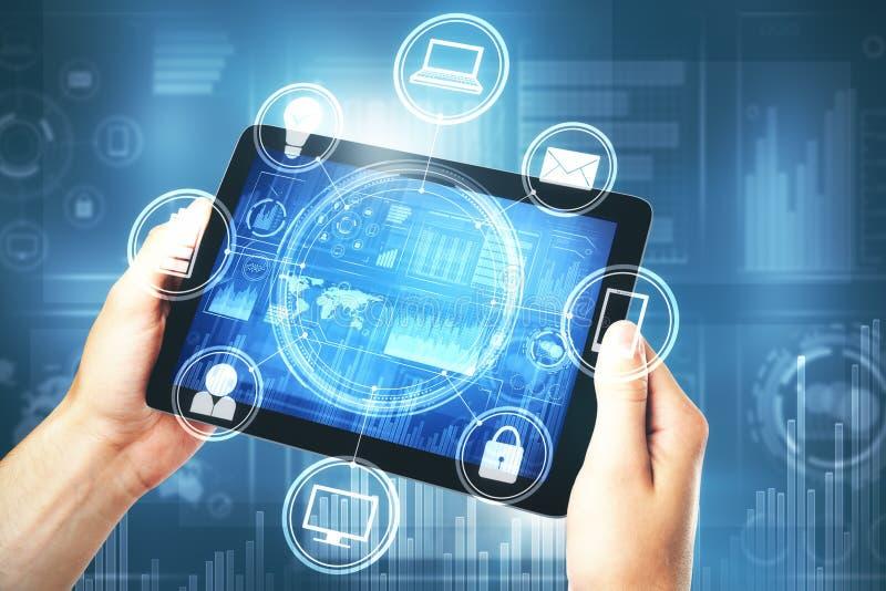 Τεχνολογία και μελλοντική έννοια στοκ φωτογραφία