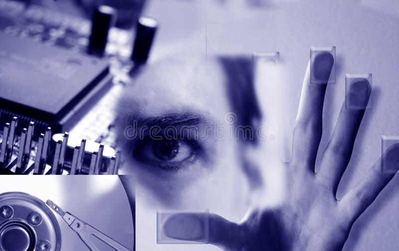 τεχνολογία κολάζ στοκ φωτογραφία με δικαίωμα ελεύθερης χρήσης