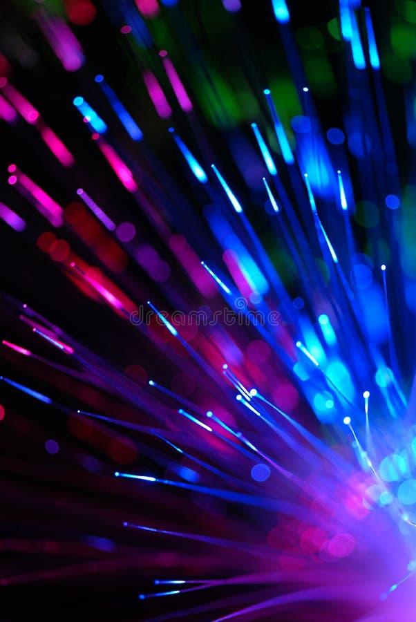 τεχνολογία οπτικών ινών στοκ εικόνα με δικαίωμα ελεύθερης χρήσης