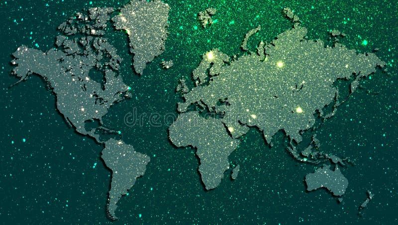 Τεχνολογία παγκόσμιων δικτύων επικοινωνία τεχνολογίας στοκ εικόνα με δικαίωμα ελεύθερης χρήσης
