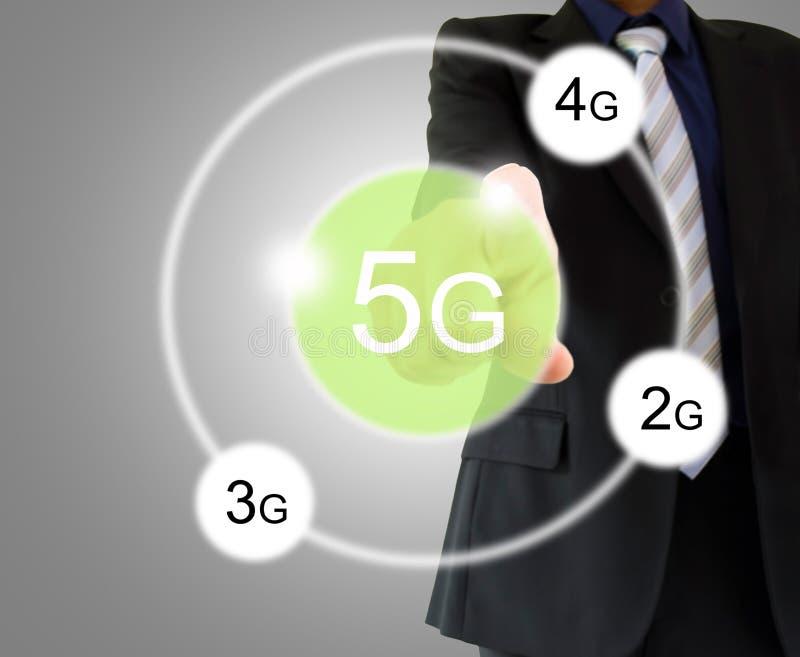 Τεχνολογία ώθησης 5g στοκ φωτογραφία με δικαίωμα ελεύθερης χρήσης