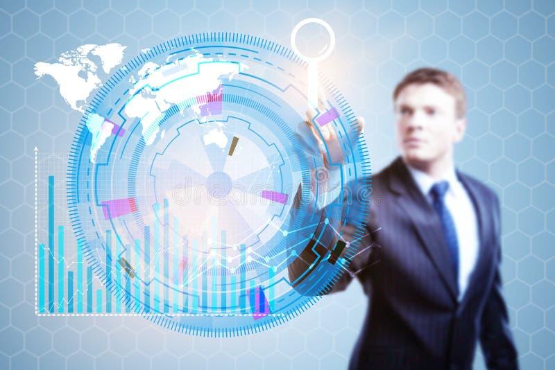 Τεχνολογία, καινοτομία και μελλοντική έννοια στοκ φωτογραφία