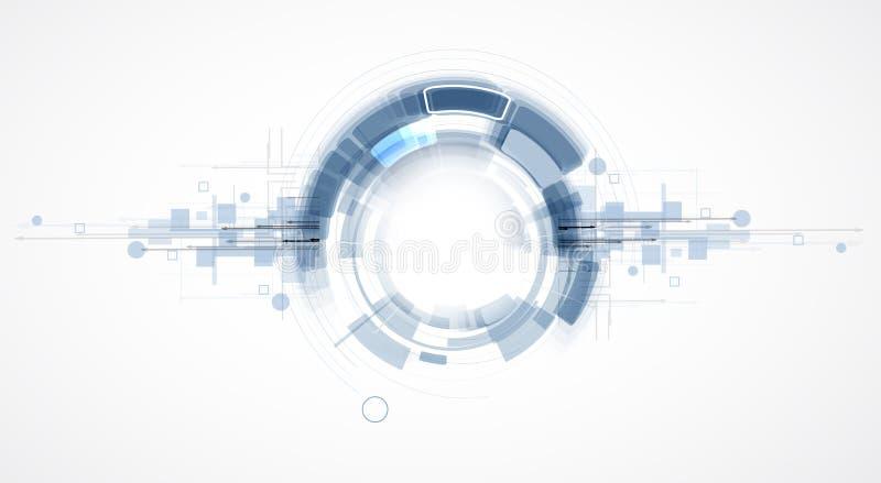 Τεχνολογία ολοκλήρωσης και καινοτομίας διανυσματική απεικόνιση