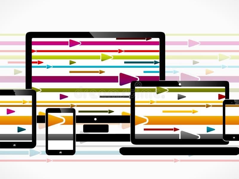 Τεχνολογία πληροφοριών ελεύθερη απεικόνιση δικαιώματος