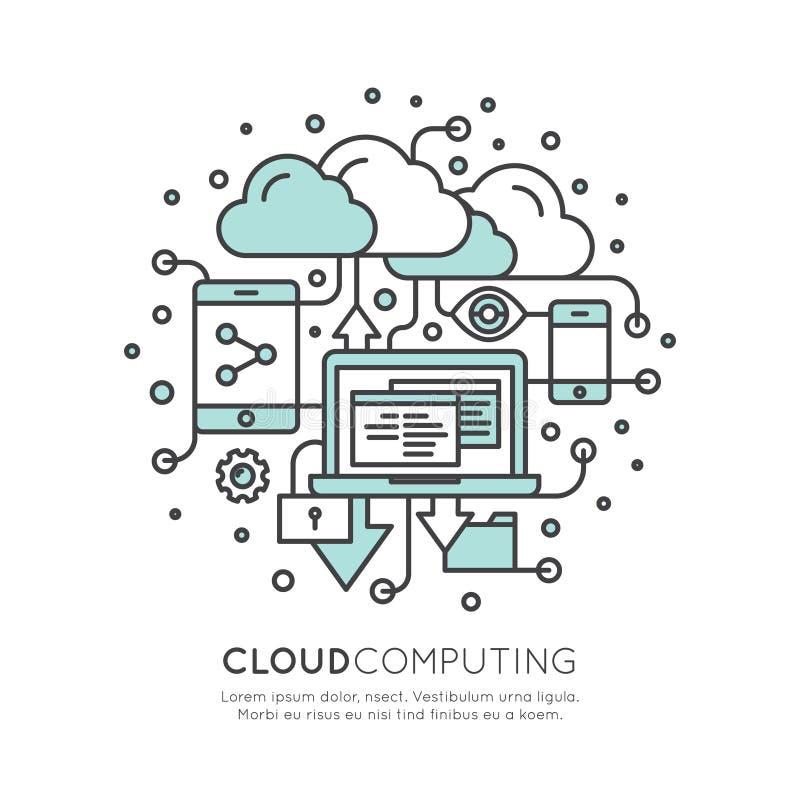 Τεχνολογία υπολογισμού σύννεφων, φιλοξενία, διαχείριση σύννεφων απεικόνιση αποθεμάτων