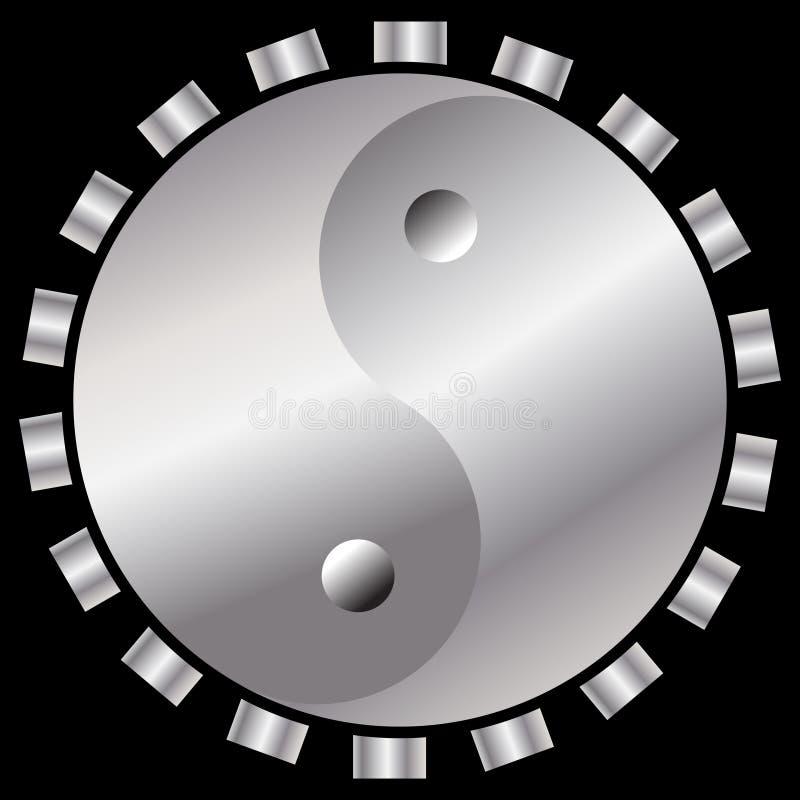 Τεχνολογία Yin-yin-yang ελεύθερη απεικόνιση δικαιώματος